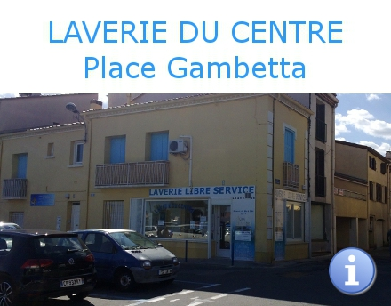 laverie self service centre village Argeles.