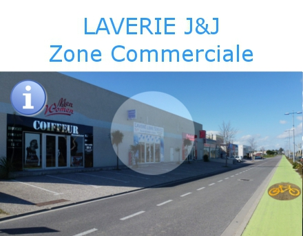 laverie automatique zone commerciale Argeles.